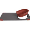 Outwell Collaps - Vaisselle - gris/rouge